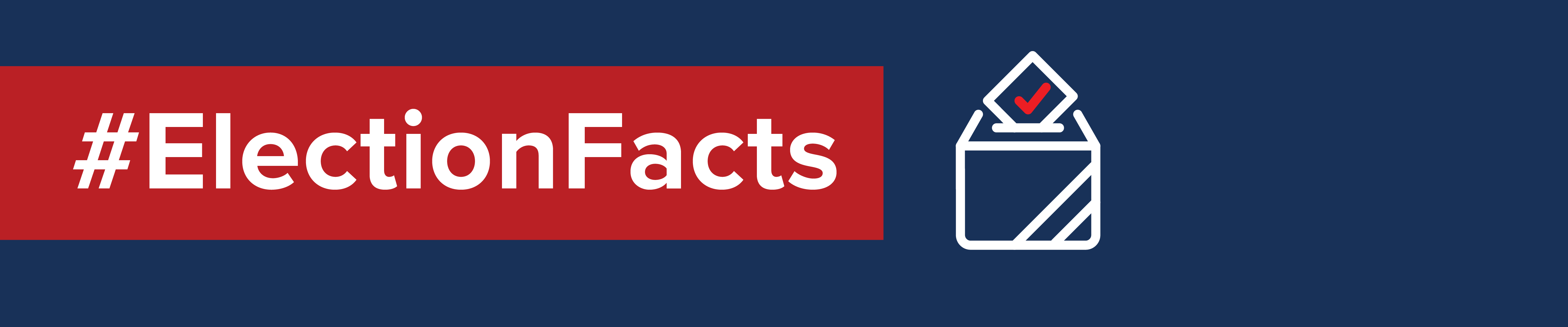 header for election facts toolkit