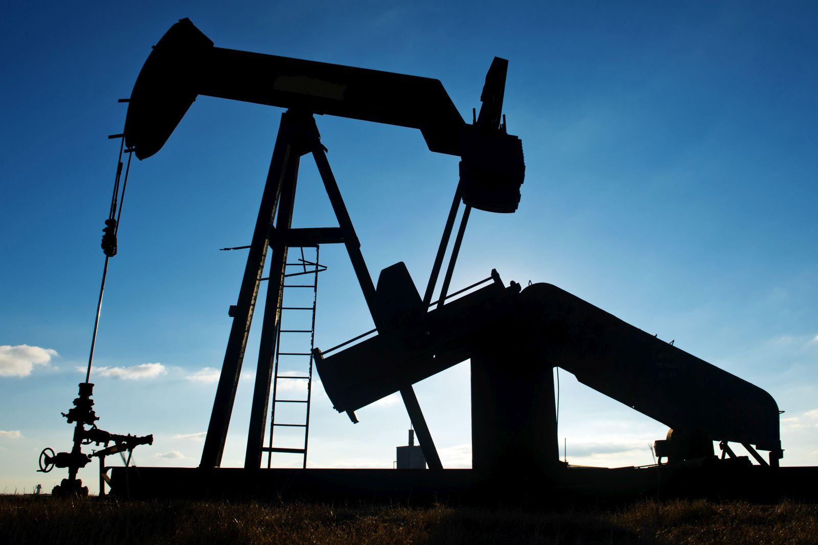 An oil jack near Corpus Christi, Texas.