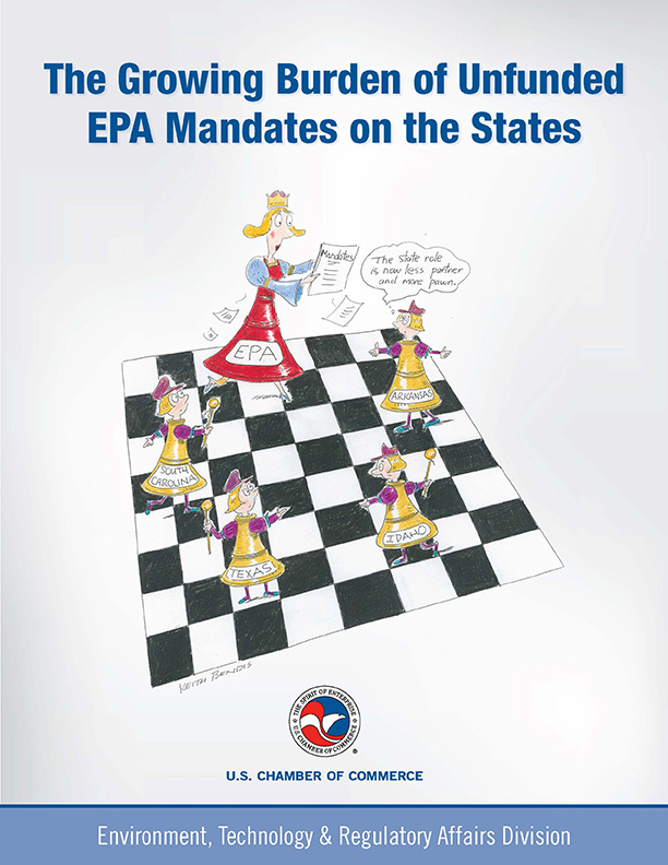 The Growing Burden of Unfunded EPA Mandates on the States report cover image