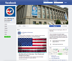 U.S. Chamber of Commerce Facebook Page