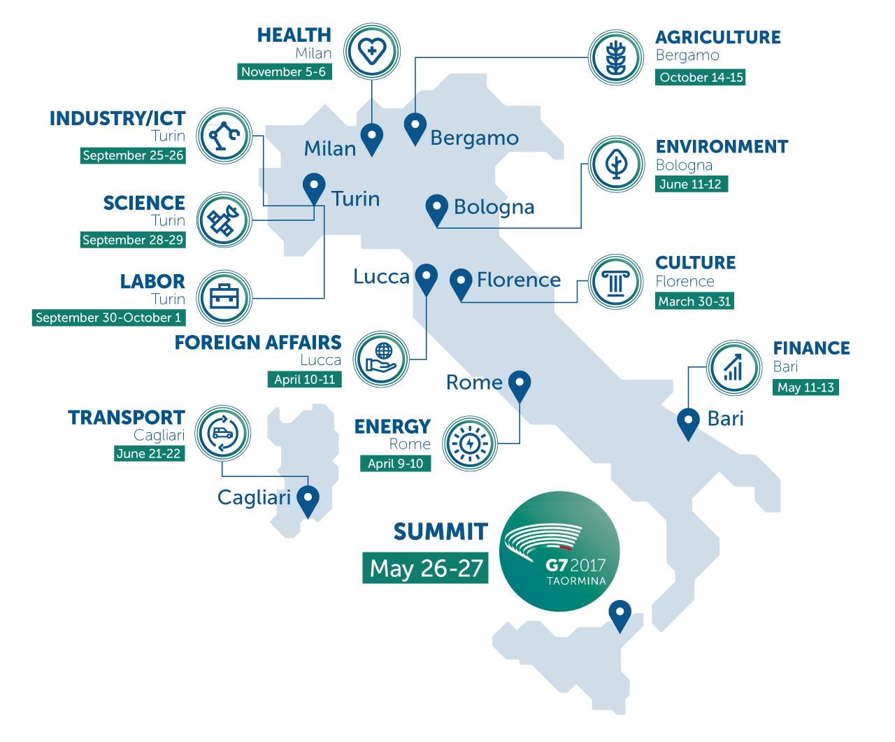 G7 2017 Calendar