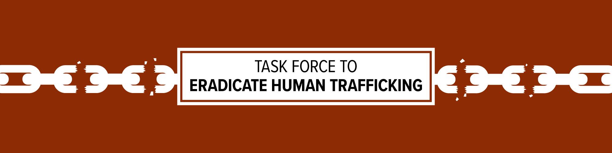 human trafficking banner
