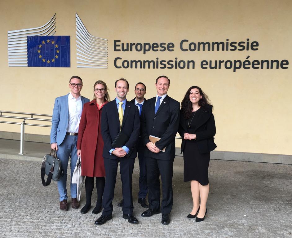 European Commission delegation visit