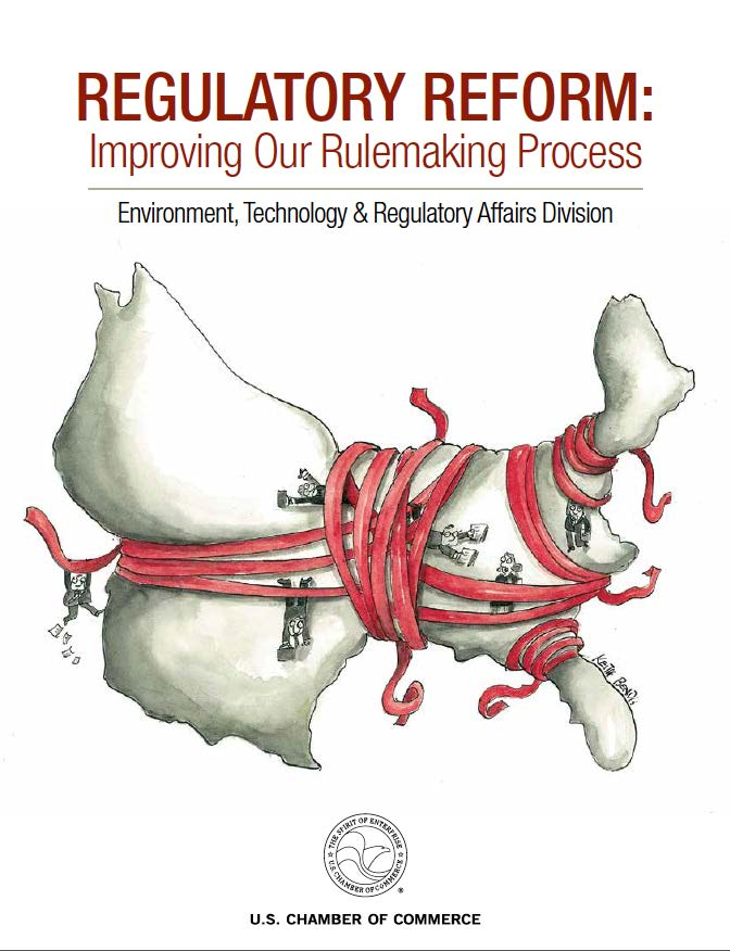 Report cover - Improving Our Rulemaking Process
