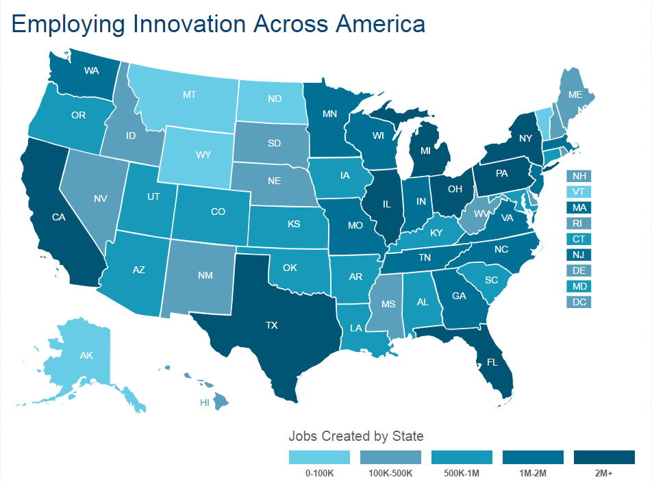 Employing Innovation Interactive Map still image