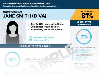 Sample How They Voted Scorecard Update Teaser