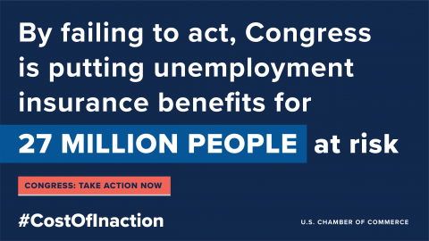 cost of inaction unemployment graphic
