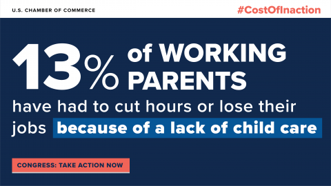 cost of inaction working parents graphic