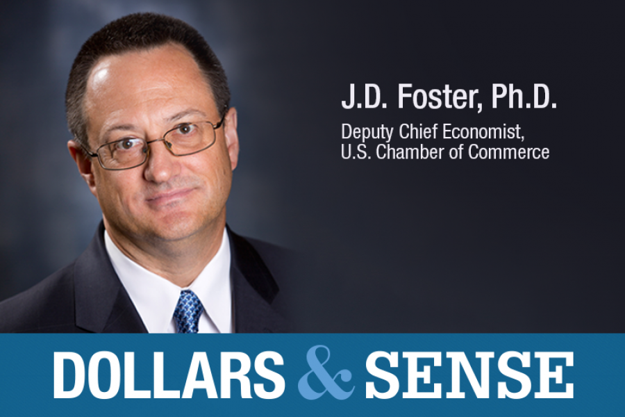 J.D. Foster, Deputy Chief Economist, U.S. Chamber of Commerce