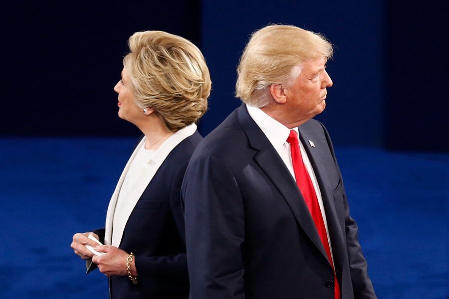 Presidential Debate: Trump and Clinton