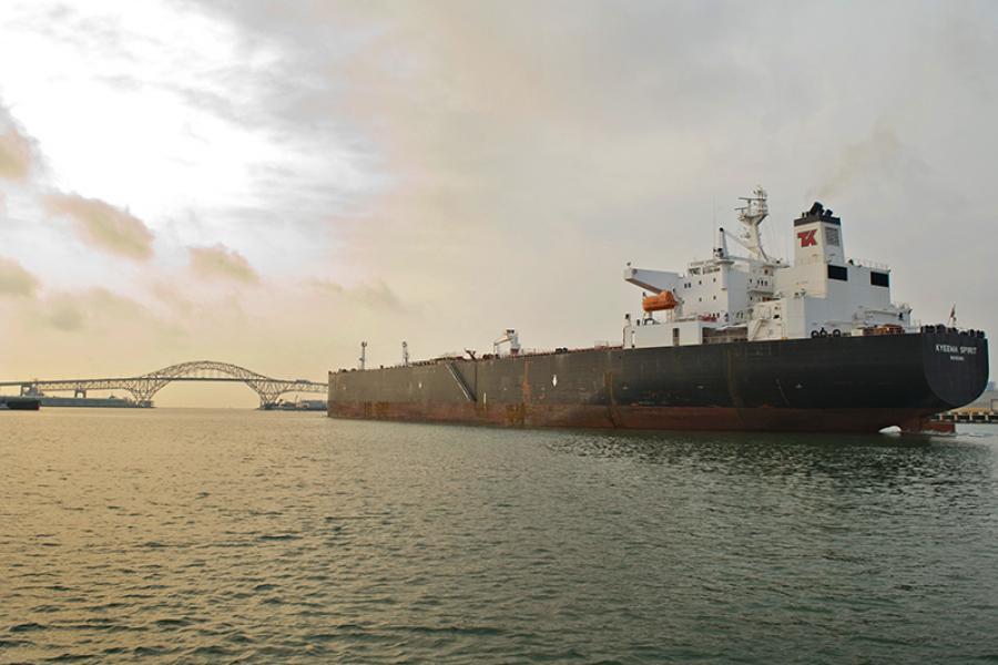 Oil tanker, Kyeema Spirit.