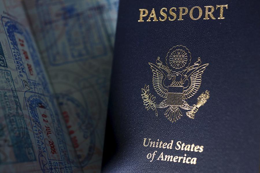 United States passports.