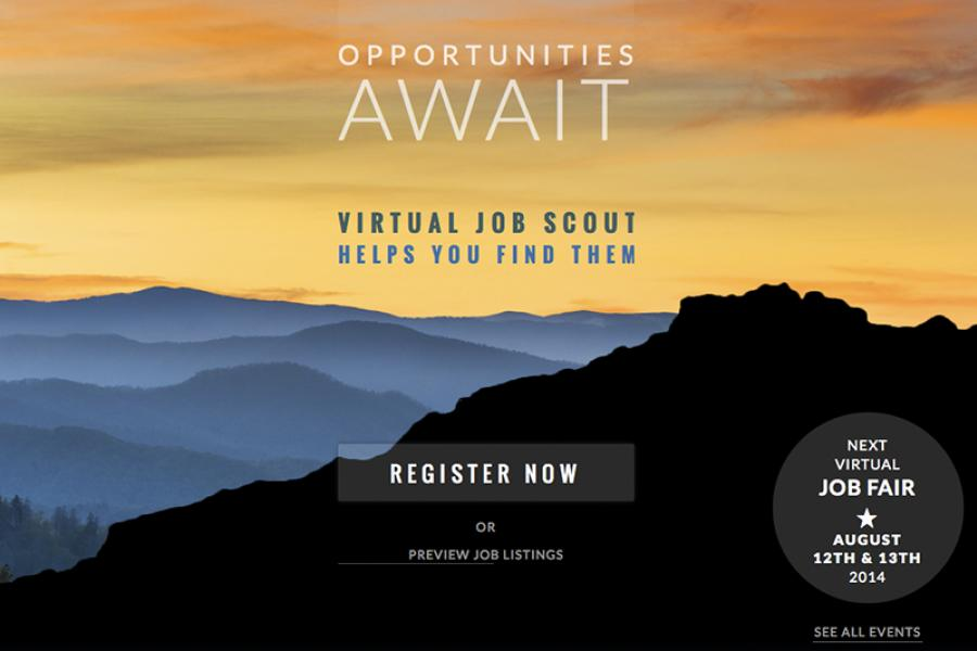 Virtual Job Scout screen shot