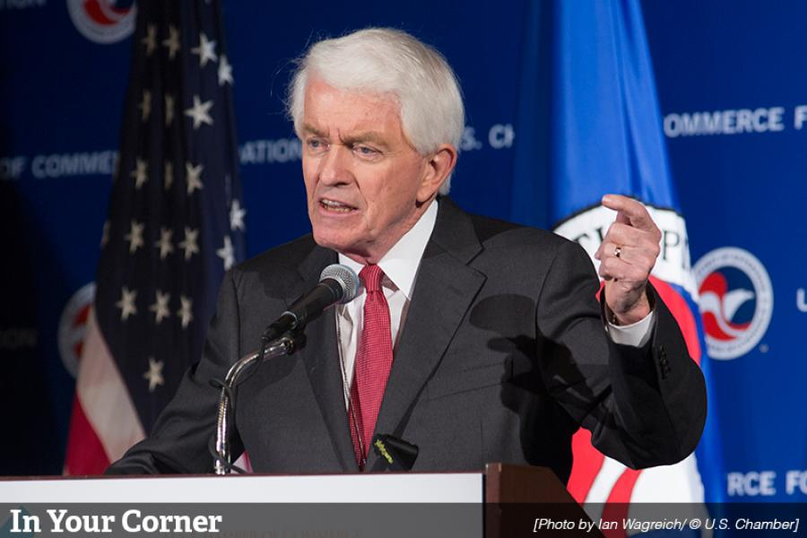 Tom Donohue, U.S. Chamber President and CEO