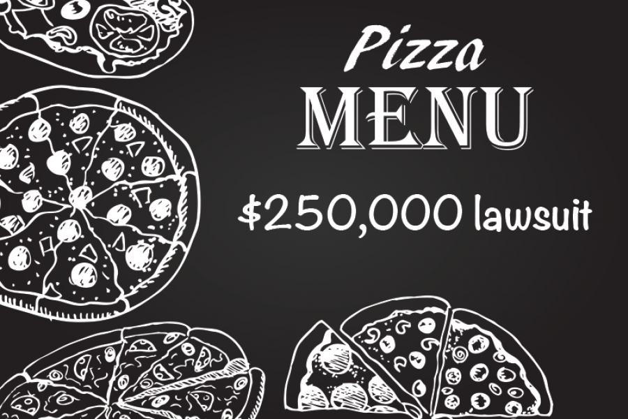 Robber Sues Pizza Parlor