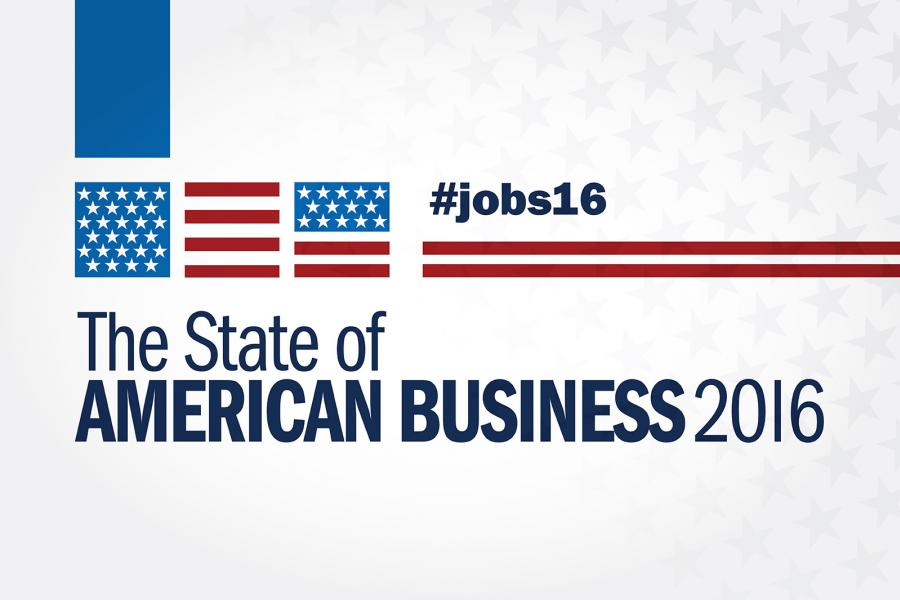 2016 State of American Business Logo