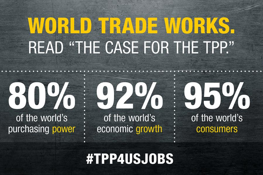 The Case For The Tpp Opportunity For America Us Chamber Of Commerce