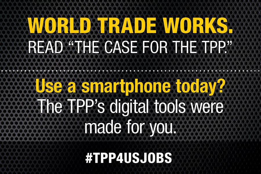 Use a smartphone today? The TPP's digital tools were made for you.