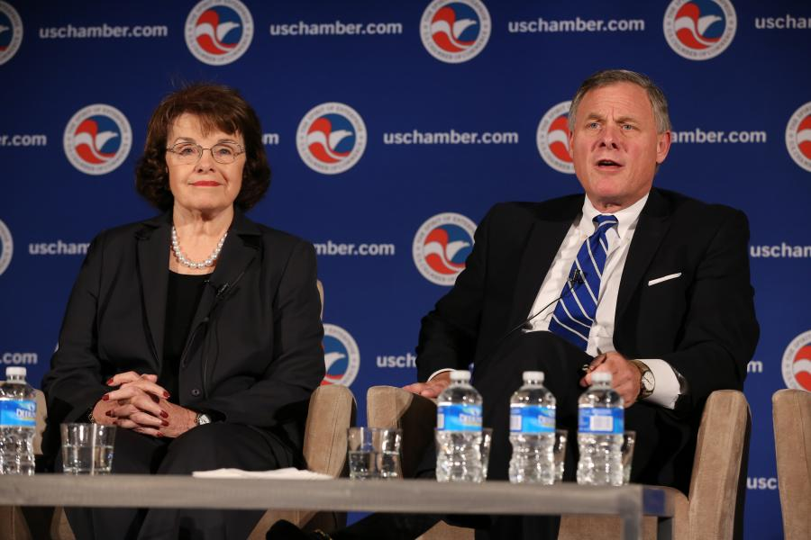 Senator Burr and Senator Feinstein