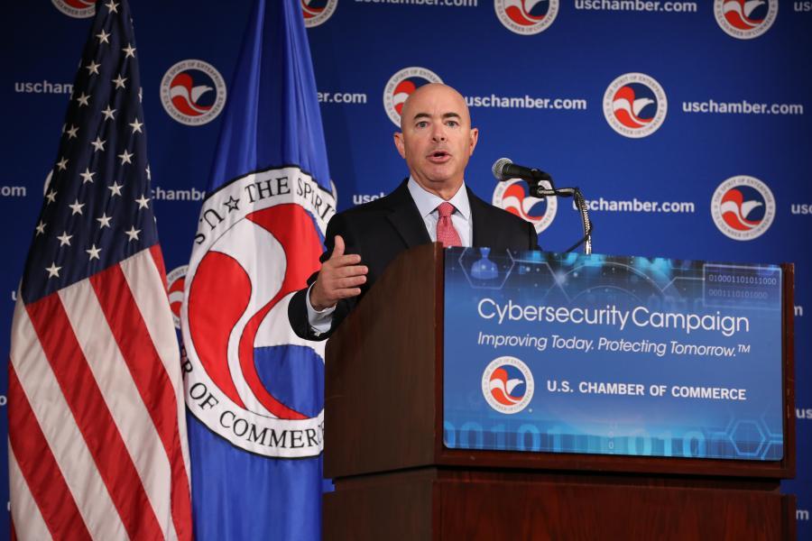 Deputy Secretary of Homeland Security Alejandro Mayorkas