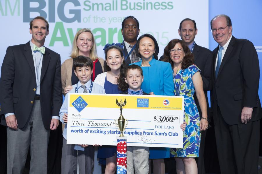 2015 YEA Award Winner at Small Business Summit
