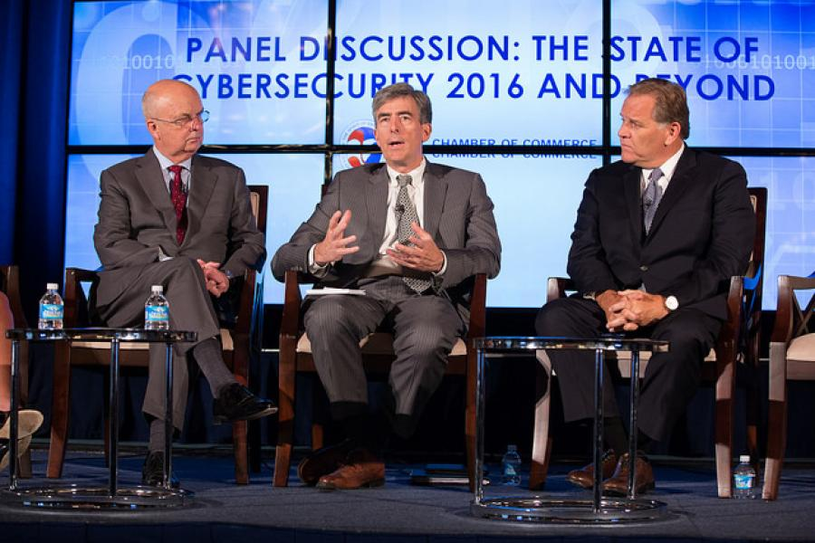 Gen. Michael Hayden, Former Director of CIA and NSA; Chris Inglis, Former Deputy Director, NSA; Mike Rogers, Former Chairman, House Intelligence Committee