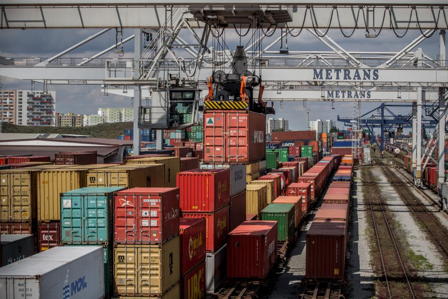 Rail And Customs Operations At Central And Eastern Europe's Largest Container Terminal