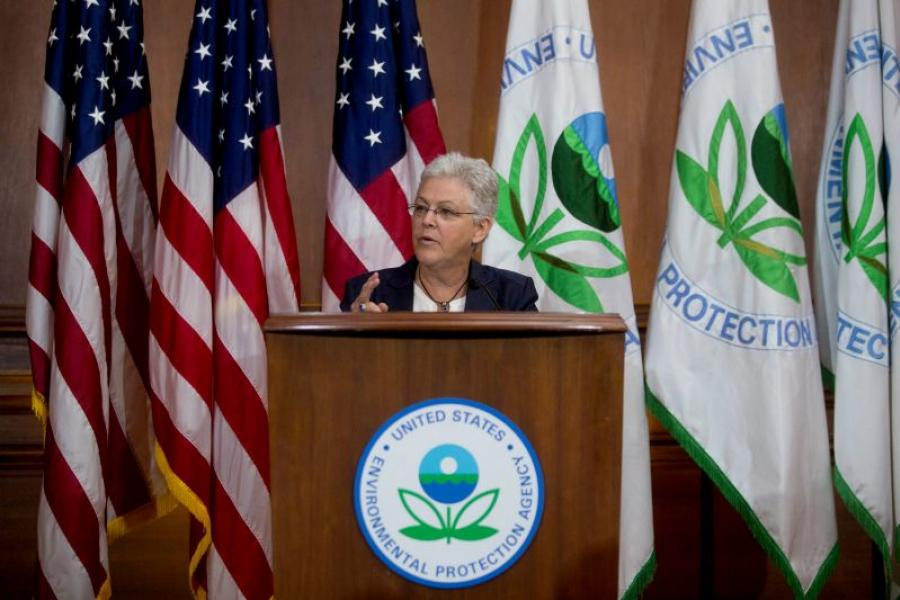 EPA Administrator Gina McCarthy. Photographer: Andrew Harrer/Bloomberg.