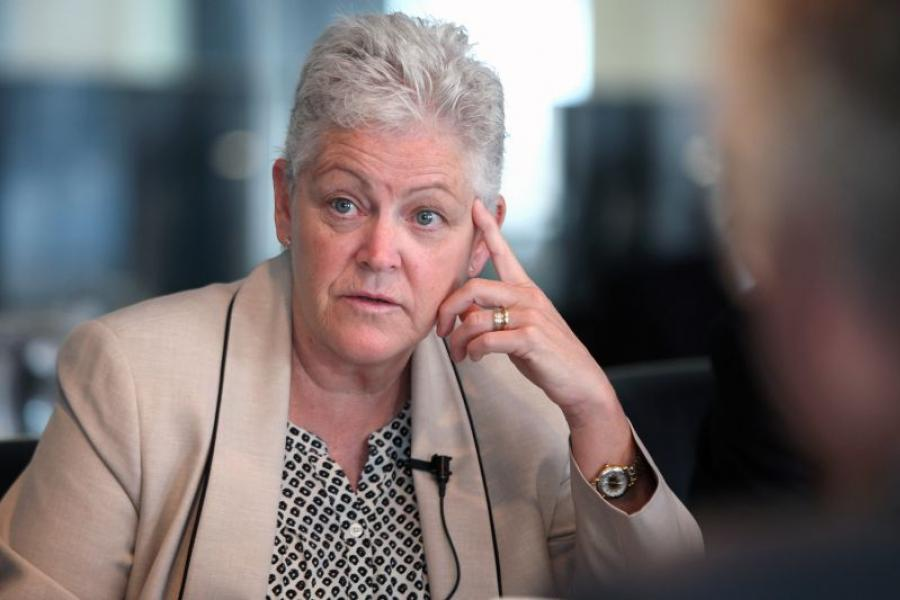 EPA Administrator Gina McCarthy. Photographer: David Banks/Bloomberg.