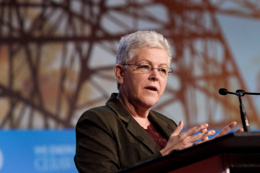 EPA Administrator Gina McCarthy. Photographer: F. Carter Smith/Bloomberg.