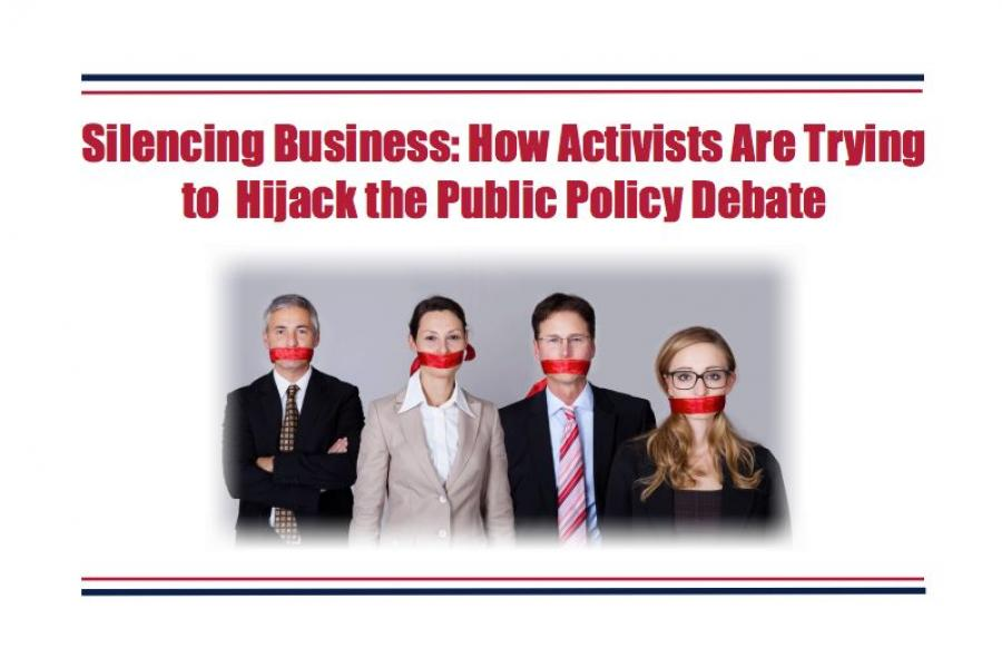 Center for Competitive Politics report on silencing businesses