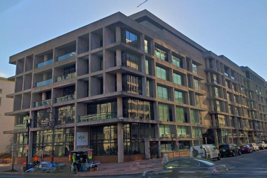 Consumer Financial Protection Bureau headquarters in Washington, DC.