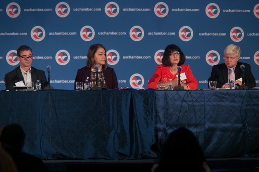 A panel discussion at the Global Disability Employment Summit