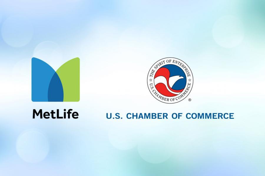 Metlife US Chamber logos