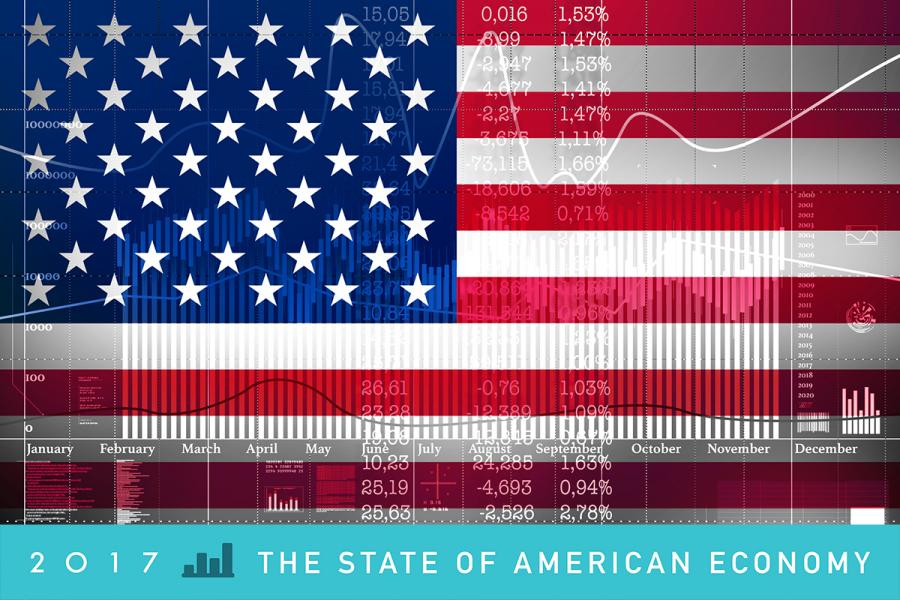 the state of the us economy The us economic outlook is expansion for 2018 and beyond forecasts are regularly updated for interest rates, growth, job creation, and gas prices.