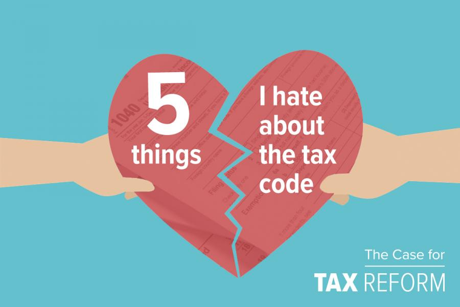 Breaking up with taxes