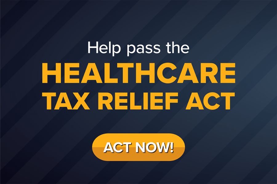 Pass the Healthcare Tax Relief Act