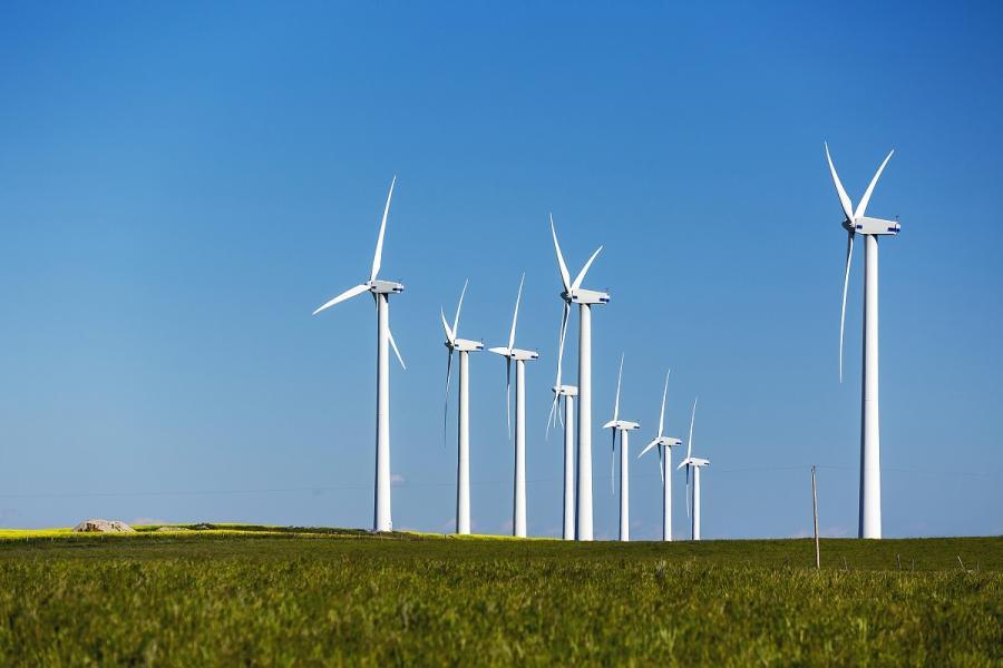 BlackRock wind turbines