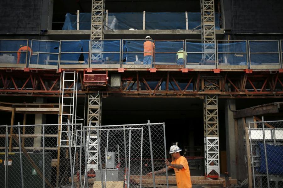 Construction of a hotel in Nashville, TN.