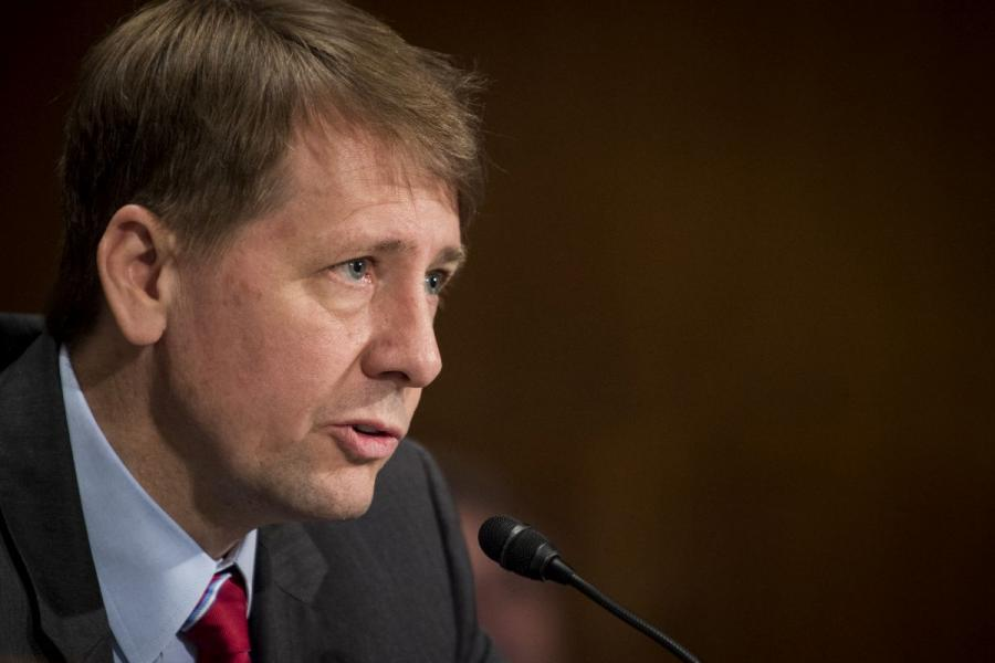 Richard Cordray, former director of the Bureau of Consumer Financial Protection, testified before the Senate Banking Committee in 2016.