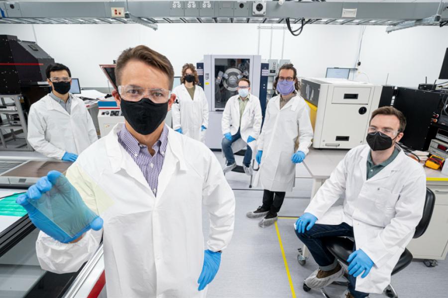 BlueDot Photonics lab