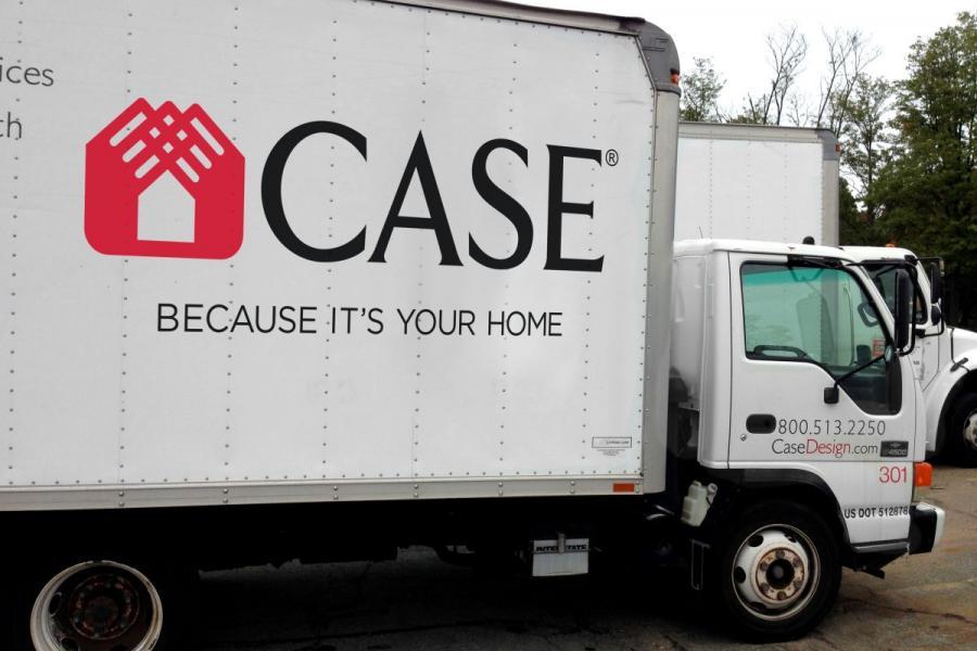 Case Design Remodeling truck