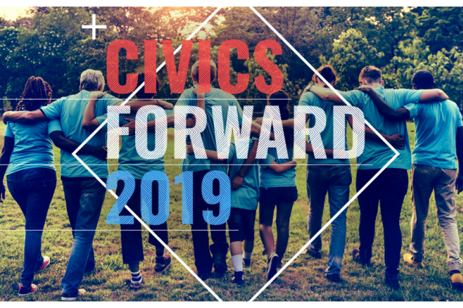 Civics Forward event
