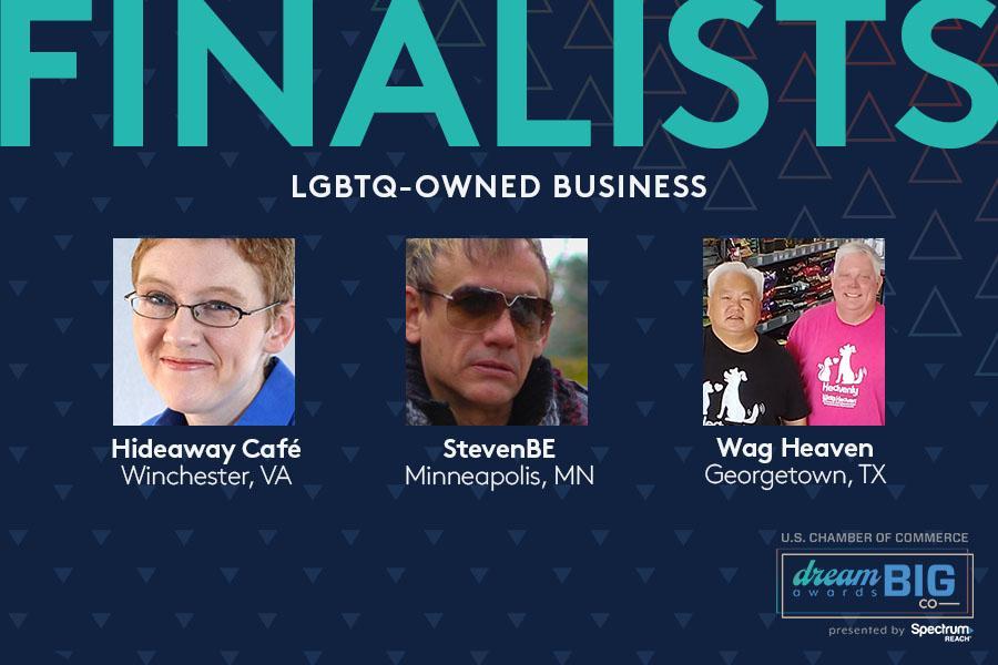 LGBTQ Business Achievement Finalists 2021