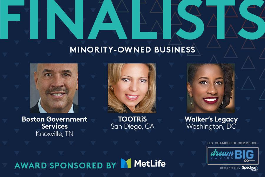 Minority-owned achievement award