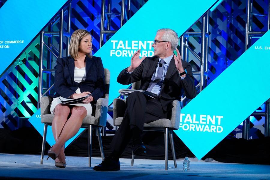 Denis McDonough at Talent Forward
