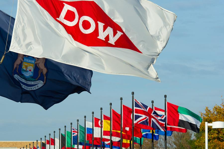 Dow world flags
