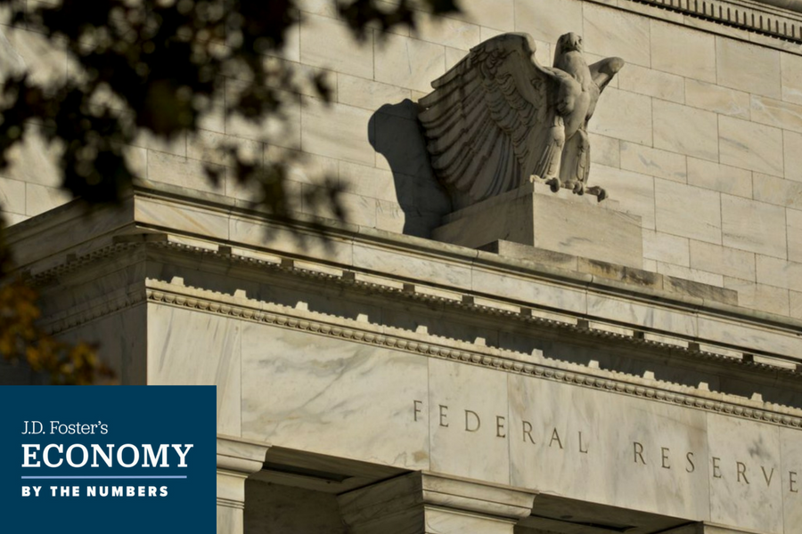 Federal Reserve building stands in Washington, D.C.