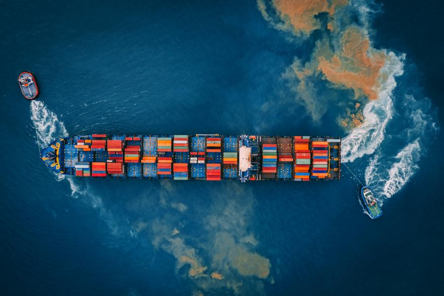 US Cargo Ship