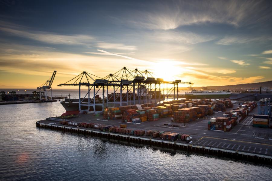 Shipping Yard, Long Beach California
